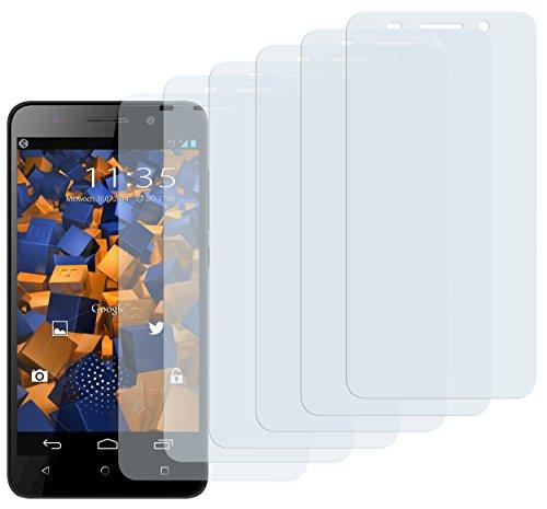 Schutzfolie kompatibel mit Huawei Honor 4X Folie klar, Displayschutzfolie (6X)