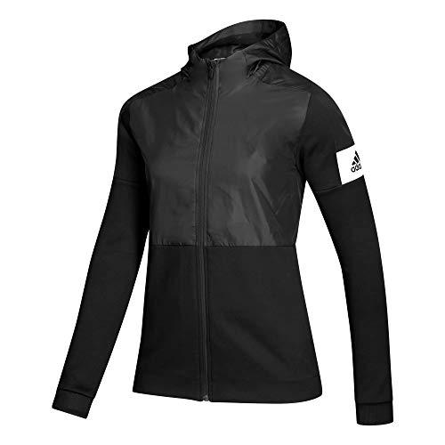 adidas Women's GameMode FZ JKT Unlined Jacket Jacket Black,White Size S