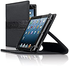 Solo Link Universal Tablet Case for 5.5 Inch to 8.5 Inch Tablets, Black