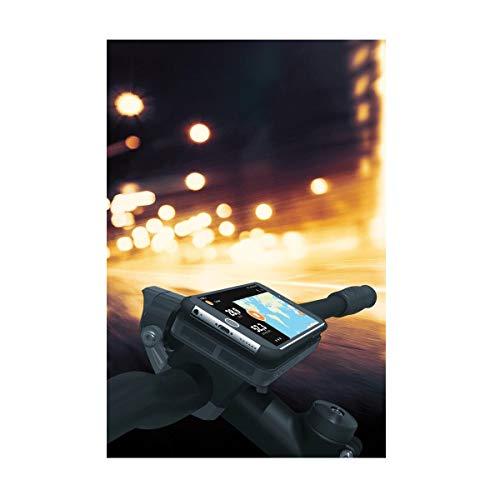 SKS Unisex-Adult Compit E+ Bicycle Phone Mount Bike Holder, Black