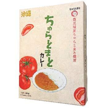 ちゅらトマトカレー 180g×2箱 オキハム 豊見城産ちゅらとまと
