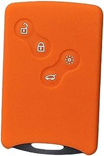 Porfeet Schutzschlüsseletui, Autoschlüsselhülle Kompatibel Mit Renault Clio Logan Megane 2 3 Koleos Kartenfernbedienung