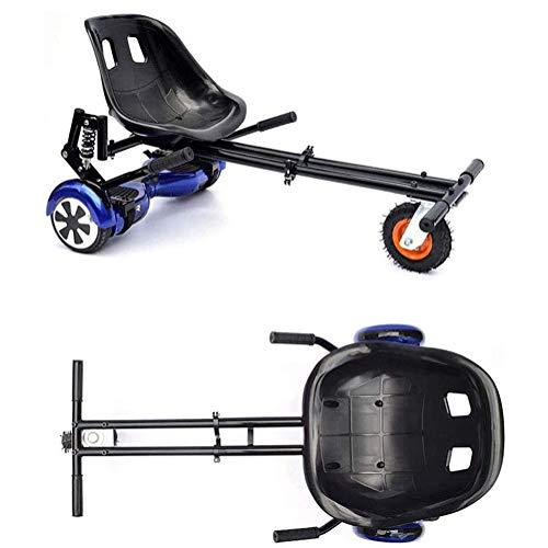 LOISK Asiento Kart para Patinete Eléctrico, Silla Self Balancing Compatible con Todos los Patinetes Eléctricos de 6.5, 8 y 10 Pulgadas