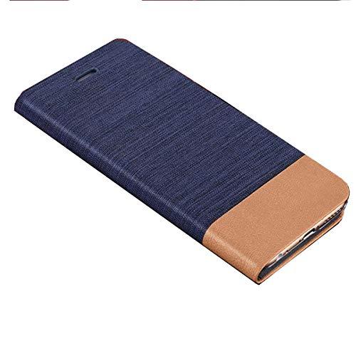 DQG Hülle für Wiko Power U10, Schutzhülle Tasche PU Leder mit Kreditkarten Geldfächern Schale & Weiche Hülle Handyhülle Standfunktion Cover für Wiko Power U10 (6.82