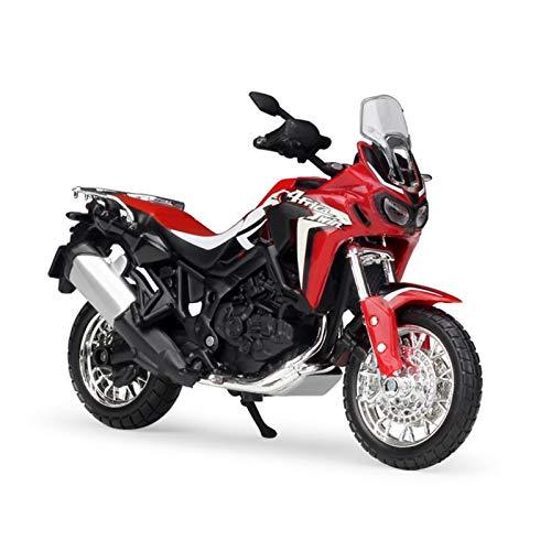 LYJB 1/18 para África Twin DCT Scale Classic Motorbike Series Diecast Metal Motorcycle Colección Modelo Niños Juguete Regalo Modelo de Motocicleta