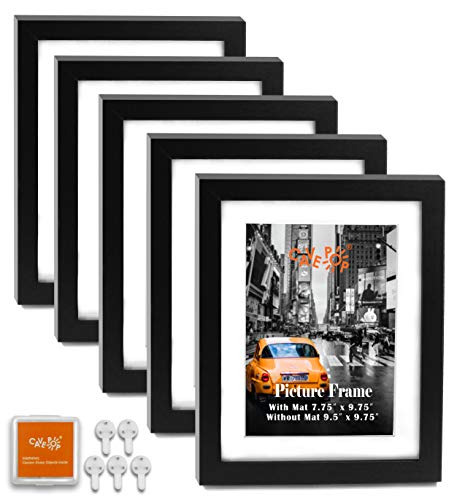 picture frames 8 x 10 black - 9