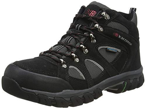 Karrimor Bodmin Mid IV Weathertite - Zapatos de trekking, Hombre, Gris (Black Sea), 41