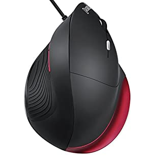 perixx PERIMICE-518R Souris Ergonomique Verticale Filaire pour Droitier - Grande Taille - 5 Boutons Programmable (B079YVG69T) | Amazon price tracker / tracking, Amazon price history charts, Amazon price watches, Amazon price drop alerts
