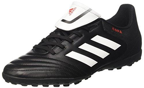 Adidas BB4439, Scarpe da Calcio Uomo, Nero (Nero/Bianco/Nero), 39 1/3 EU