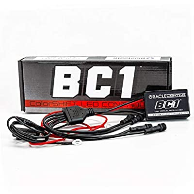 ORACLE BC1 Bluetooth ColorSHIFT RGB LED Controller - BT Remote for ColorSHIFT LED Car Lighting - Part # 1720-504