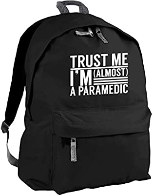 HippoWarehouse Trust me I'm Almost a Paramedic Backpack ruck Sack Dimensions: 31 x 42 x 21 cm Capacity: 18 litres from Hippowarehouse