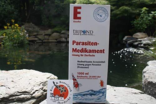 Tripond Parasiten Medikament 500 ml für 10.000 Liter Teichvolumen