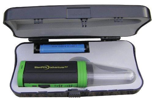 Steripen OPTI Solar Pack Portable UV Water Purifier/Verde Negro/Verde