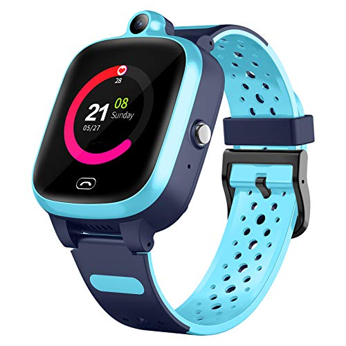 4G Smart Watch for Kids - Smartwatch with GPS WiFi LBS Tracker Real...