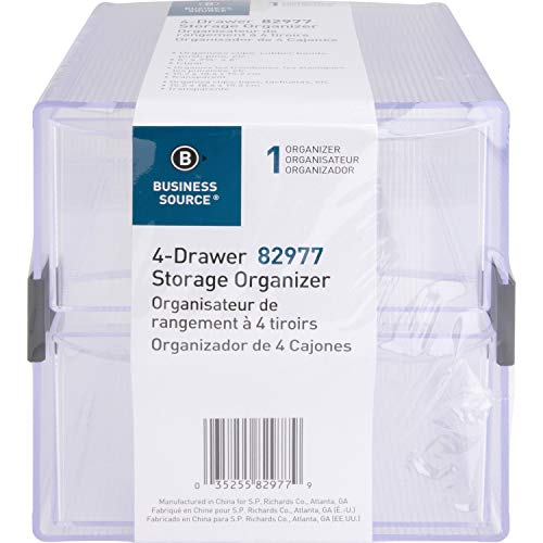 Sparco (SPR82977) Organizador de cajones de almacenamiento extraíble, 15.24 cm x 17.14 cm x 15.24 cm