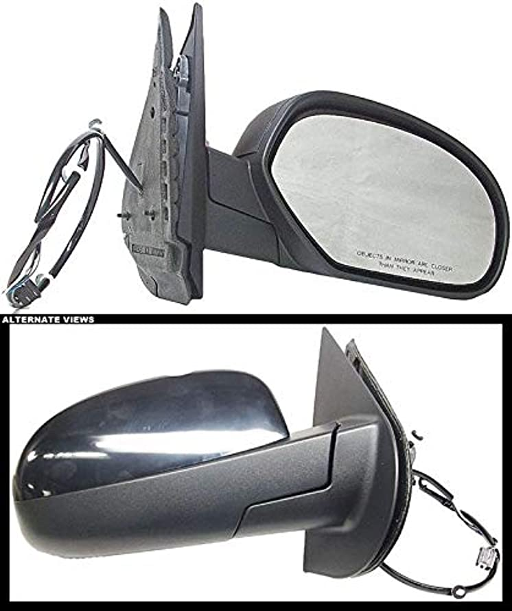 APDTY Used 120873-Blue Power Side View Mirror Assembly RH Select 07-13 GM Models