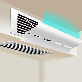 KAR Aire Acondicionado Central del Parabrisas, Caja Ajustable Deflector De Viento Anti Directa Blowing Universal Deflector para El Dormitorio