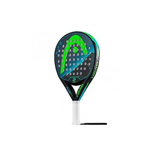 HEAD Flash Raquette de Padel pour Adulte Taille Unique Noir/Vert
