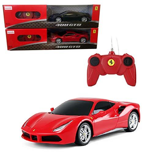 rastar- Ferrari 488 GTB - Coche de control de radio escala 1:24 (01031) , color/modelo surtido