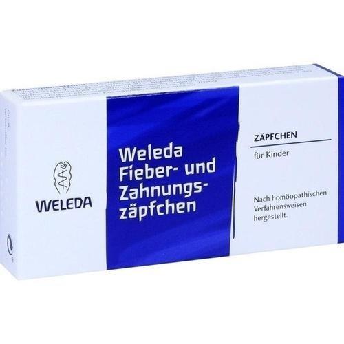 Weleda Fieber- und Zahnungszäpfchen, 10 St. Zäpfchen
