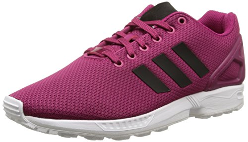 Adidas Zx Flux, Scarpe da Corsa Unisex Adulto, Rosa (Power Pink S12/Core Black/Ftwr White), 45 1/3
