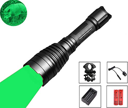WINDFIRE 350 Lumens Green Led Hunting Flashlight