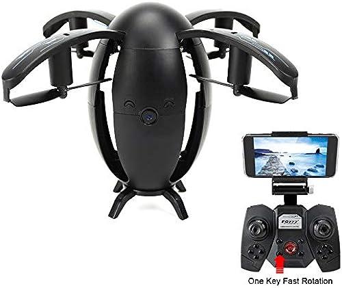 mejor moda Drone Portátil con RC Quadcopter Drone con con con Cámara Vídeo En Vivo WiFi Quadcopter con Drone Plegable - Control De Altitud, One Key Take Off Landing, Control De App  salida