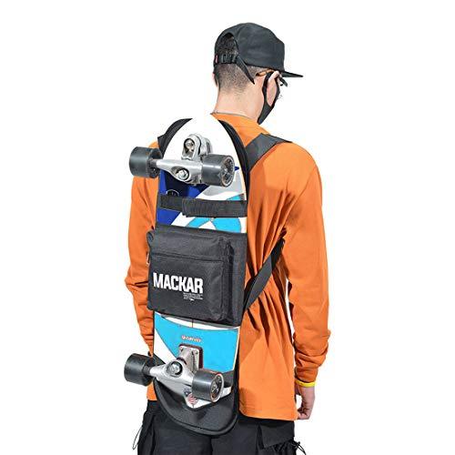 Dratumyoi スケートボードバッグ 折りたたみ式 スケボーリュックサック バックパック スケボー入れ ケース ...