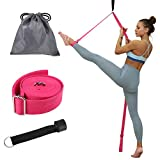 Rubywoo&chili Adjustable Ballet Stretch Strap, Leg Stretcher Band on Door, Adjustable Yoga Leg Band Ballet Stretch Strap for Ballet Yoga Dance or Gymnastics Training (H03)