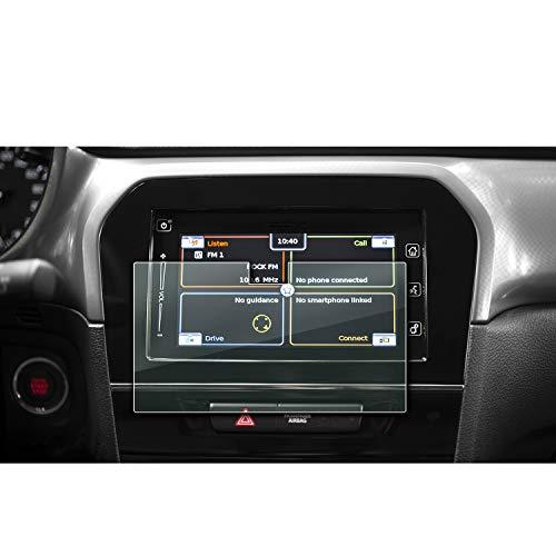 [2 Stück] Suzuki Vitara 7 Zoll Navigation Schutzfolie - LFOTPP Transparenter PET Kunststoff Folie