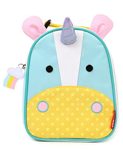 Skip Hop Zoo Lunchies - Bolsa térmica, diseño unicorn, color turquesa