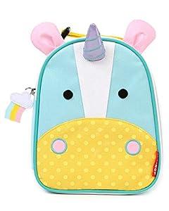 Skip Hop Zoo Lunchies Mochila para el almuerzo, Niños, Diseño Unicorn, Turquesa