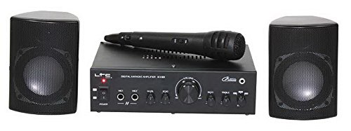 Sistema karaoke LTC. Incluye amplificador PA y micro