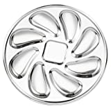 Cabilock Stainless Steel Oysters Sauce Pan 1PC- Oyster Plate Oysters Oyster Pan