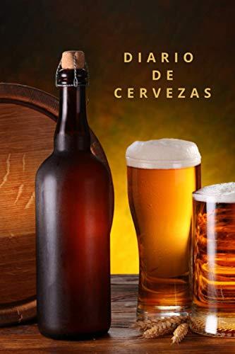 DIARIO DE CERVEZAS: CUADERNO DE DEGUSTACIÓN   Lleva un registro de todos los detalles: marca, tipo, sabor, aroma, valoración, lugar...   Regalo especial para Amantes de la cerveza