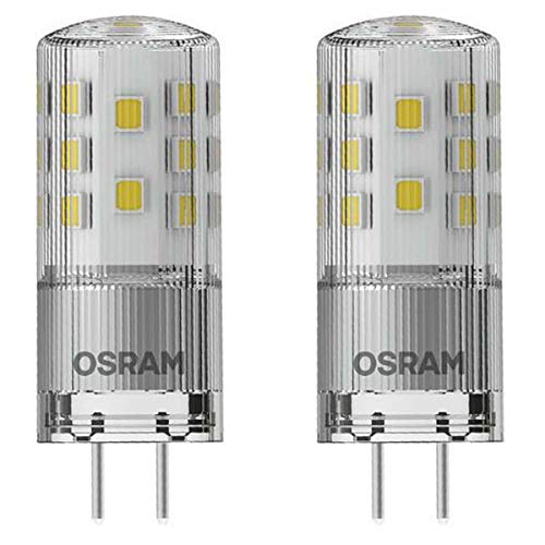 OSRAM LED STAR PIN 30 GY6.35 3,3W=35W 400lm 12V 320° warm white 2700 K nodim 2er