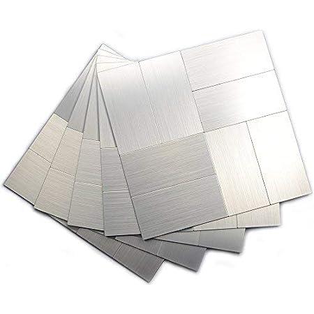 Peel and Stick Backsplash Tiles Kitchen, Wall Tiles for Kitchen Backsplash Peel and Stick (12x12 Inch Per Sheet, Pack of 5)