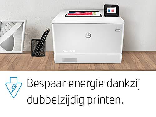 HP Color LaserJet Pro M454dw Farblaserdrucker (Laserdrucker, WLAN, LAN, Duplex, Airprint) weiß