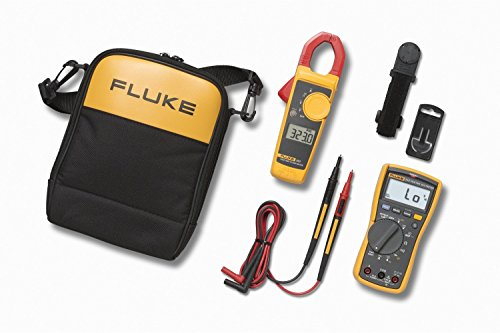 Fluke 117 Multimeter für Elektriker, Electrician Multimeter and Clamp Meter Combo Kit, 1