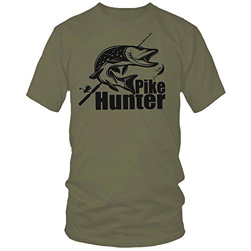 QBEC T-shirt de pêche à la pêche avec sandre à la...