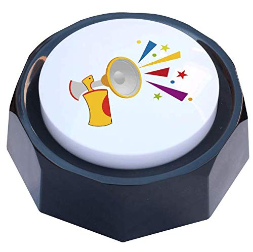 RIBOSY Rap Airhorn Sound Button - Hip Hop Air Horn Sound Effect Button - Add Extra Fun to Your Life (Batteries Included)