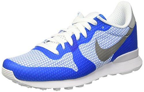 Nike Internationalist NS, Zapatillas de Deporte Hombre, Azul (Photo Blue/Metallic Silver-Wht), 42 EU