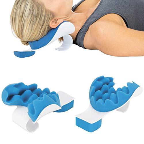Almohadas para relajar los hombros, sin olor Ligeras, resistentes y portátiles Almohadas sencillas y efectivas para el cuello, seguras para viajar a casa