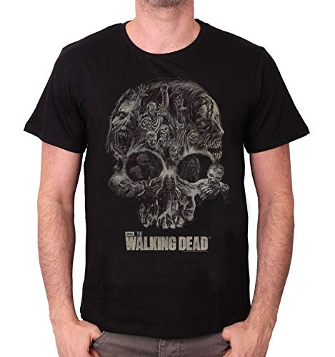 Tshirt The Walking Dead - Walker Skull
