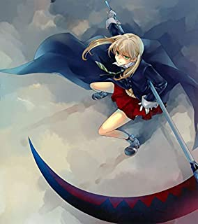 MasonArts Soul Eater Maka 24inch x 27inch Silk Poster Wallpaper Wall Decor Silk Prints for Home and Store