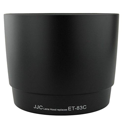 JJC LH-83C Black Professional Lens Hood for Canon 100-400mm F 4.5-5.6 L IS USM Lens Replaces Canon ET-83C