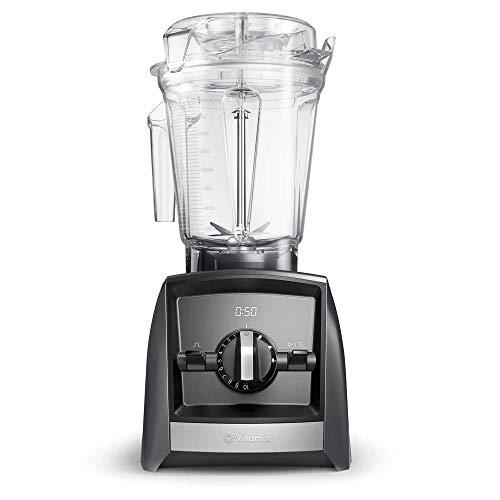 Vitamix Ascent Series A2500i Standmixer, 100% Tritan-Kunststoff (BPA-frei), 2 liters, grau