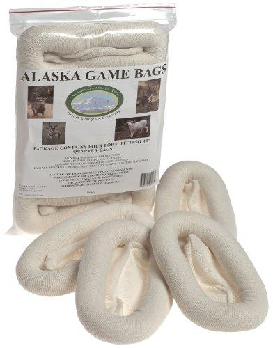 Alaska Game Deer, Antelope and Sheep Bags, 48-Inch (Pack of Four)