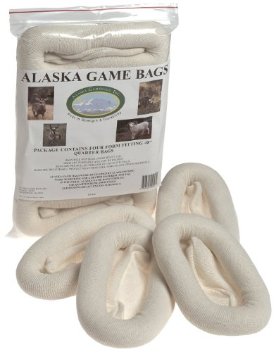 Alaska Game Deer, Antelope and Sheep Bags, 48-Inch (Pack of Four)