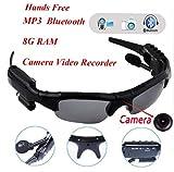 wwzEITpV Nuevo Deporte Wireless Bluetooth Cámara Gafas De Sol Gafas con Función De Memoria RAM 8G Video DVR...